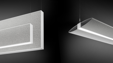 A-Light Launches Sound Absorbing Luminaires