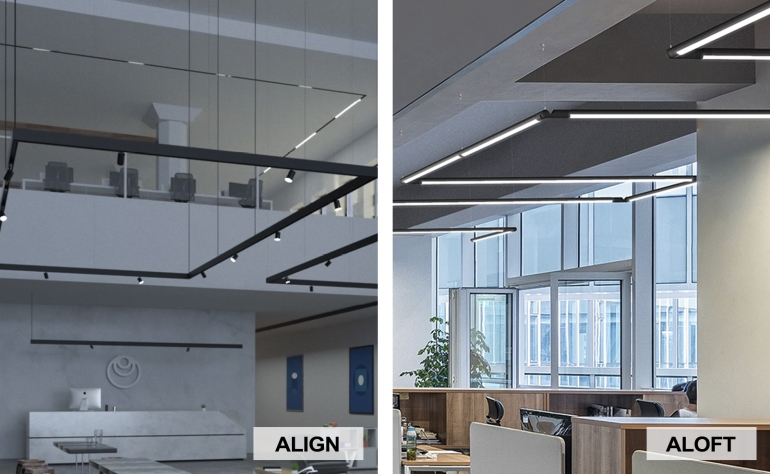 A-Light's Align and Aloft Win Product Innovation Awards from Buildings and interiors+sources Magazines